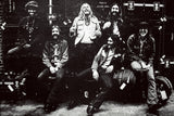 The Allman Brothers Band Classic Rock Star Band Poster