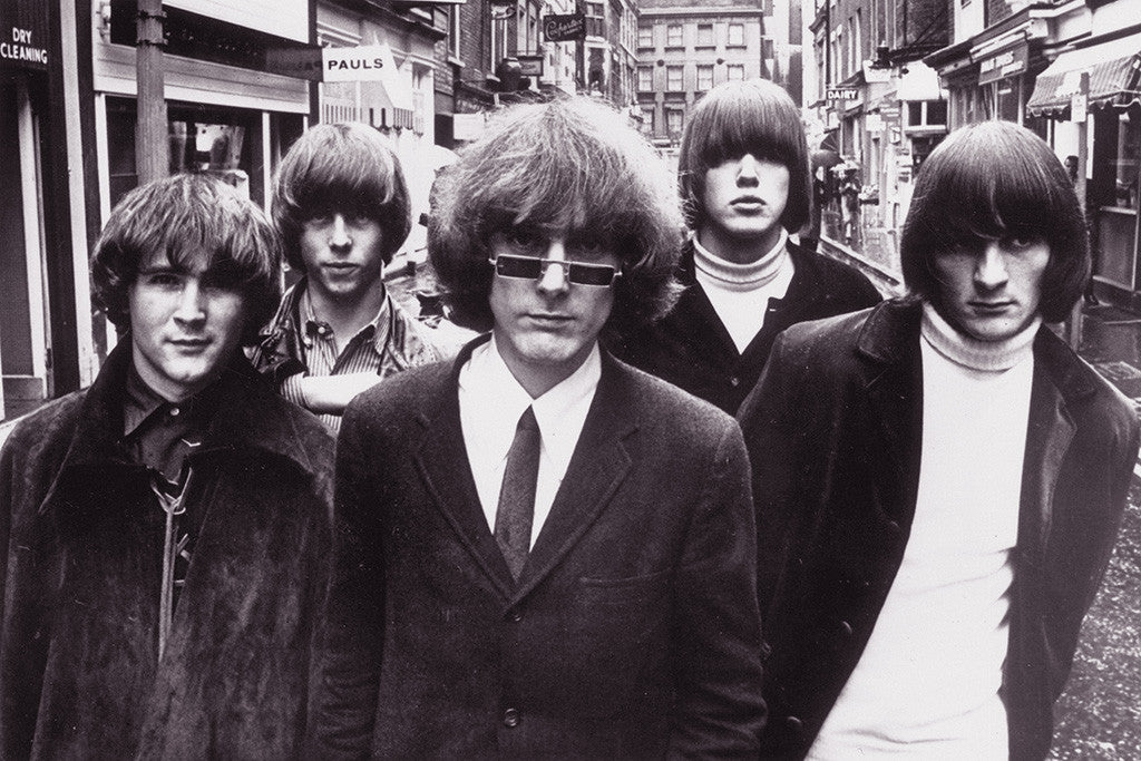 The Byrds Classic Rock Star Band Poster