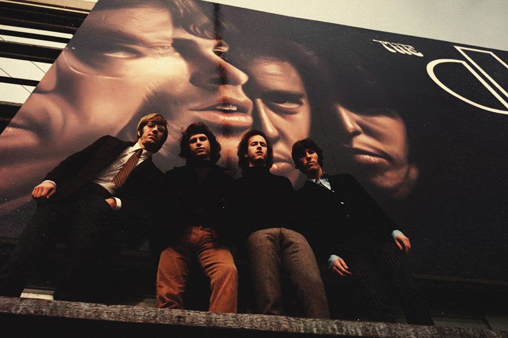 The Doors Classic Rock Star Band Poster