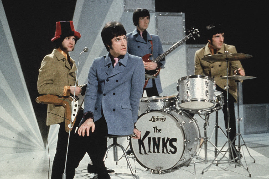 The Kinks Rock Star Poster
