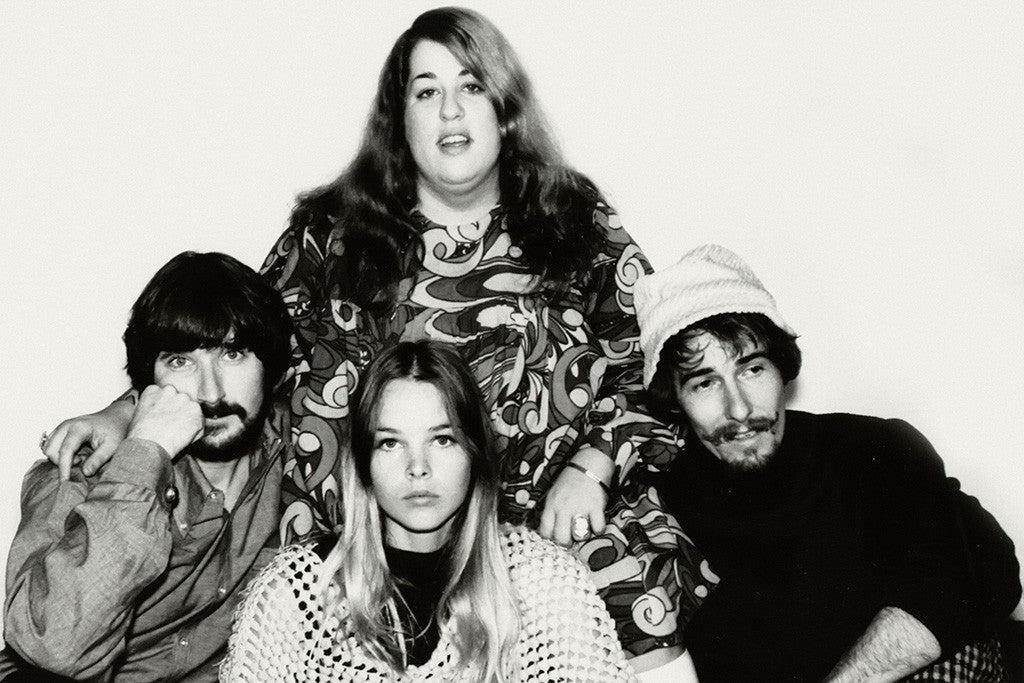 The Mamas & The Papas Classic Rock Star Band Poster