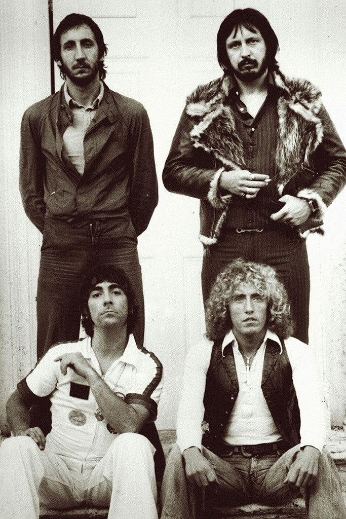 The Who Classic Rock Star Band Poster