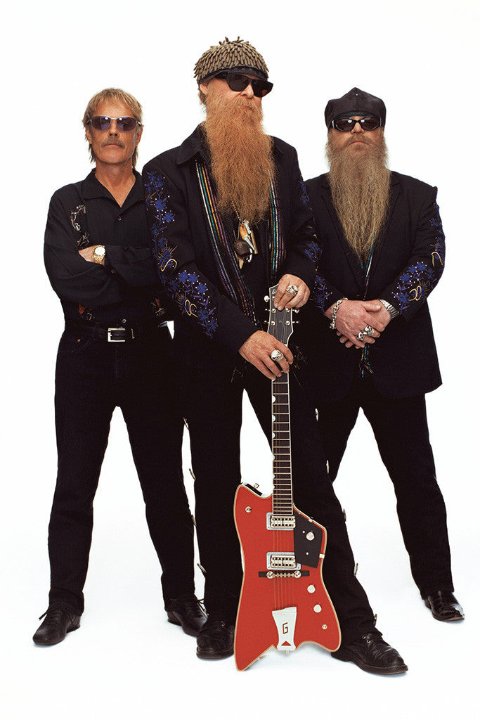ZZ Top Classic Rock Star Poster