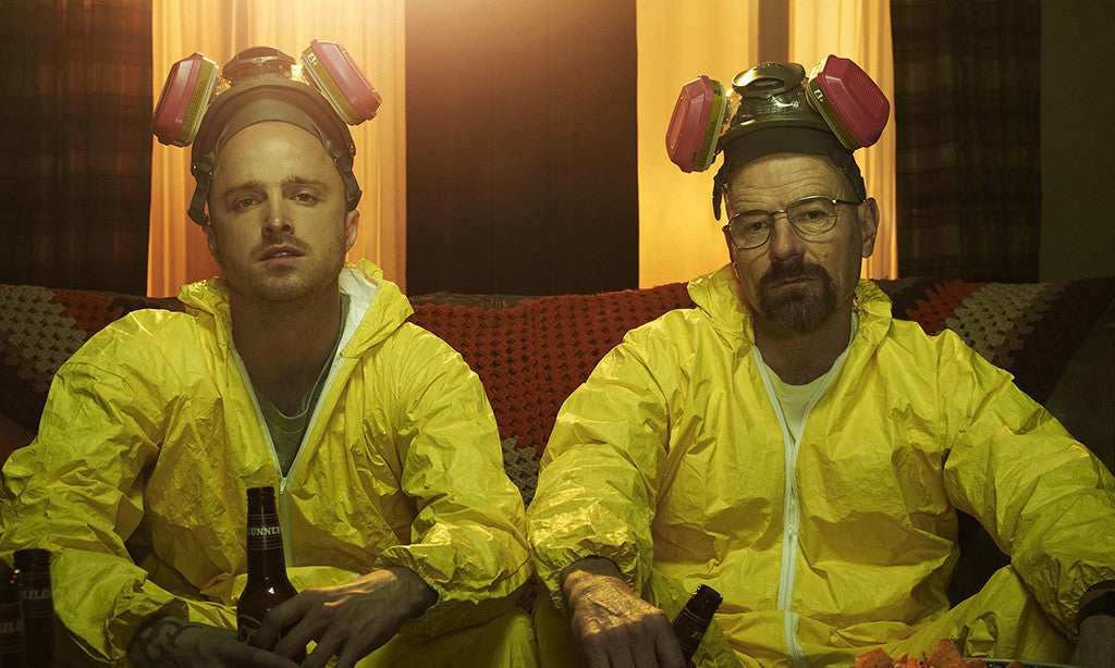 Breaking Bad Walter White Jesse Pinkman Beer Poster