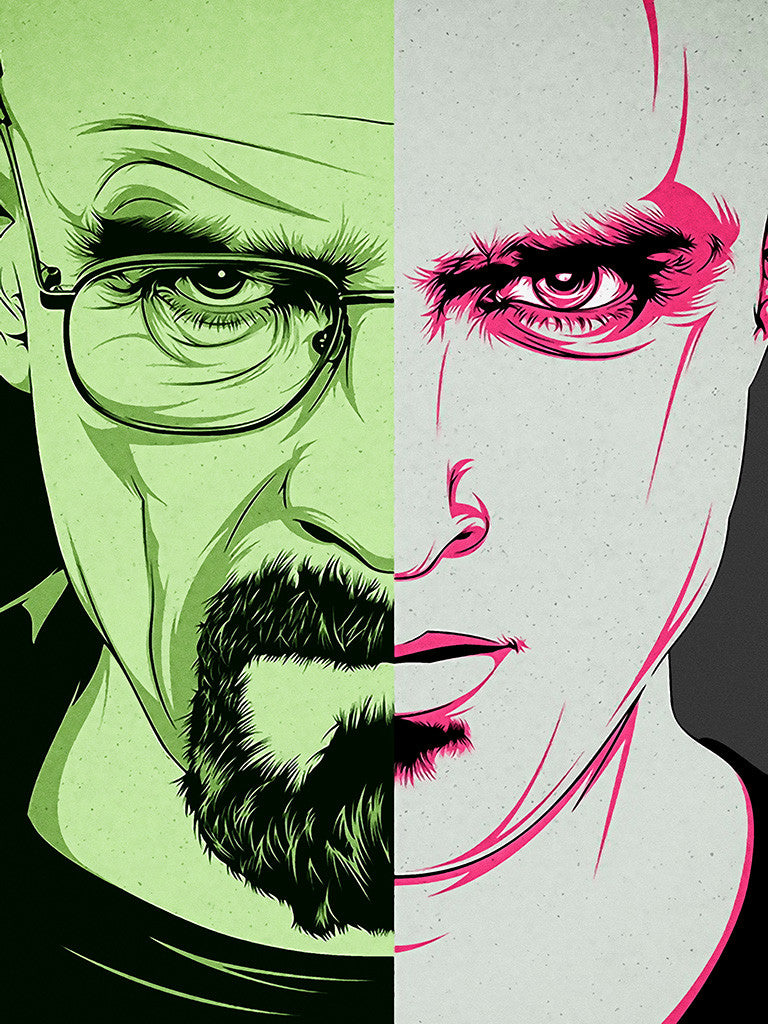 Breaking Bad Walter White Jesse Pinkman Poster