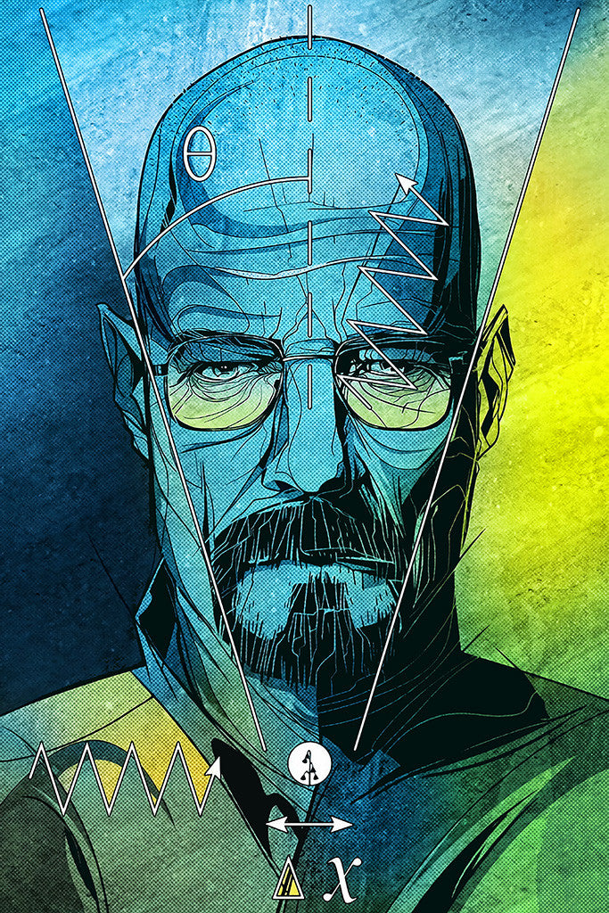 Breaking Bad Walter White Poster