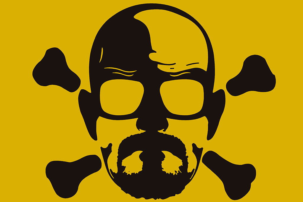 Breaking Bad Walter White Self Poster