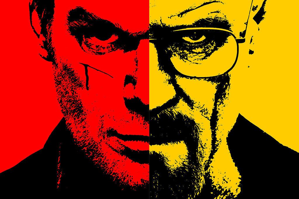 Breaking Bad Walter White Dexter Poster