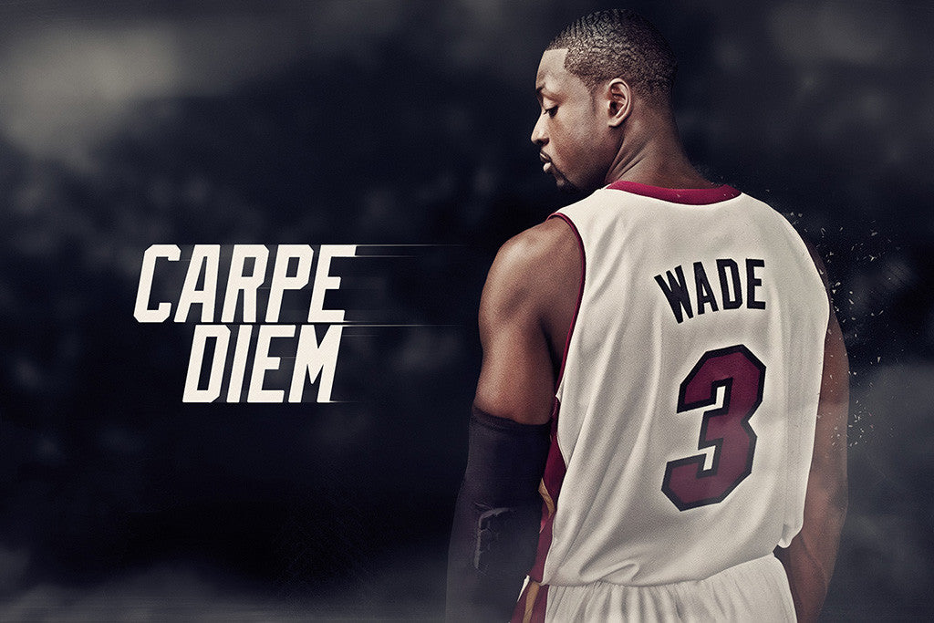 Dwyane Wade Miami Heat Basketball NBA Poster