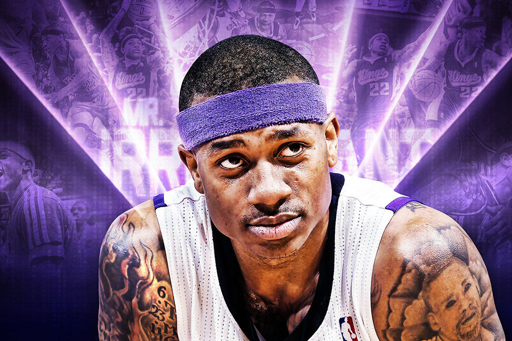 Isaiah Thomas Sacramento Kings Basketball NBA Poster
