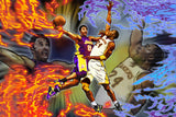 Kobe Bryant Basketball NBA Poster 13/14