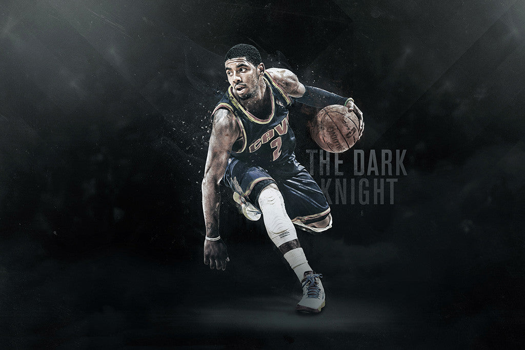 Kyrie Irving Cleveland Cavaliers Basketball NBA Poster