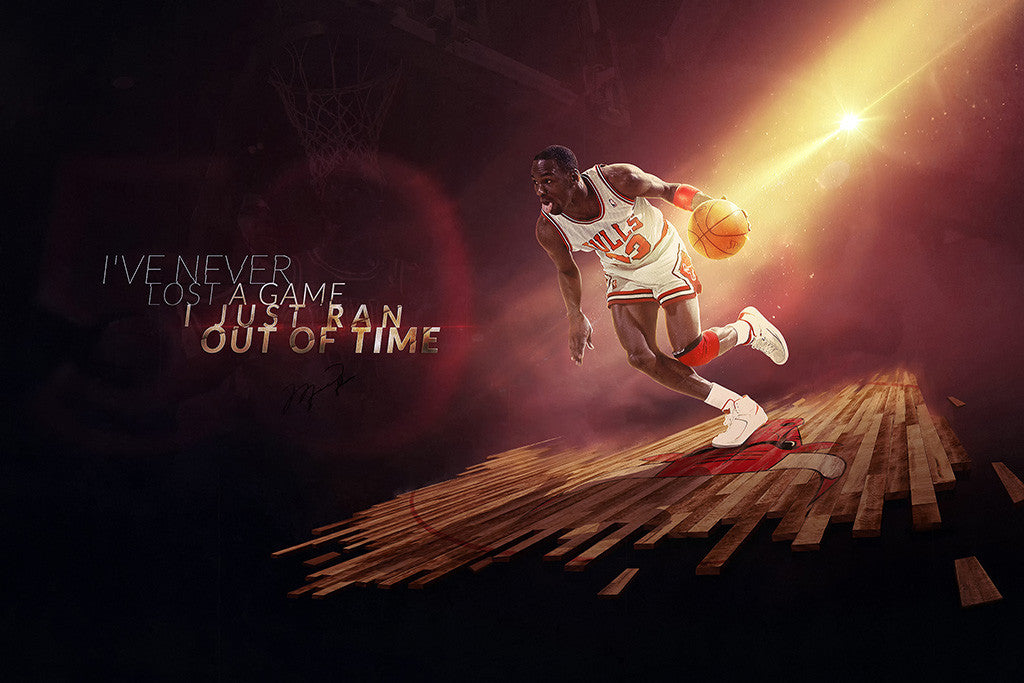 Michael Jordan Basketball NBA Poster