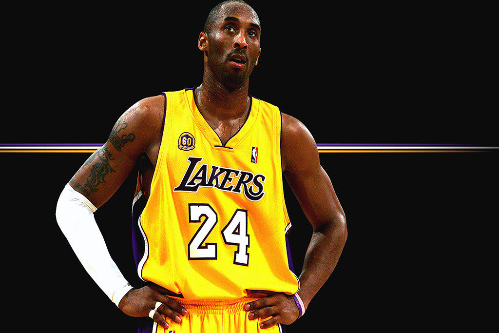 Kobe Bryant Basketball NBA Poster