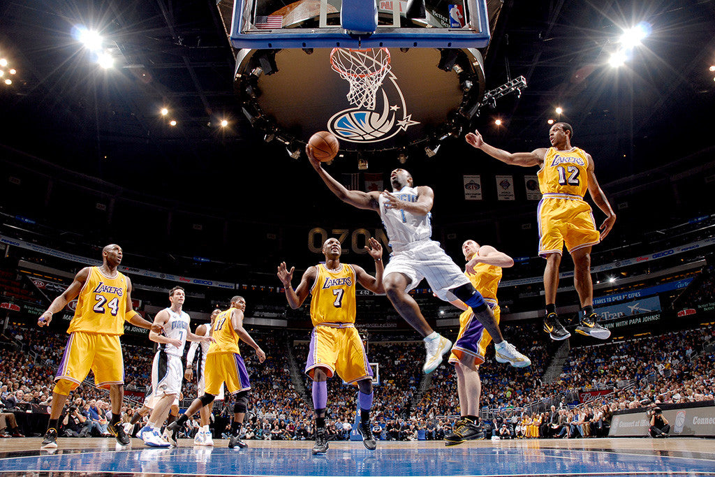 Los Angeles Lakers Vs Orlando Magic Finals Basketball NBA Poster