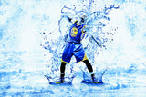 Stephen Curry Golden State Warriors Basketball NBA Player Poster