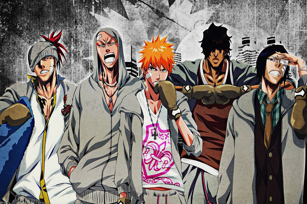 Bleach Team Anime Poster