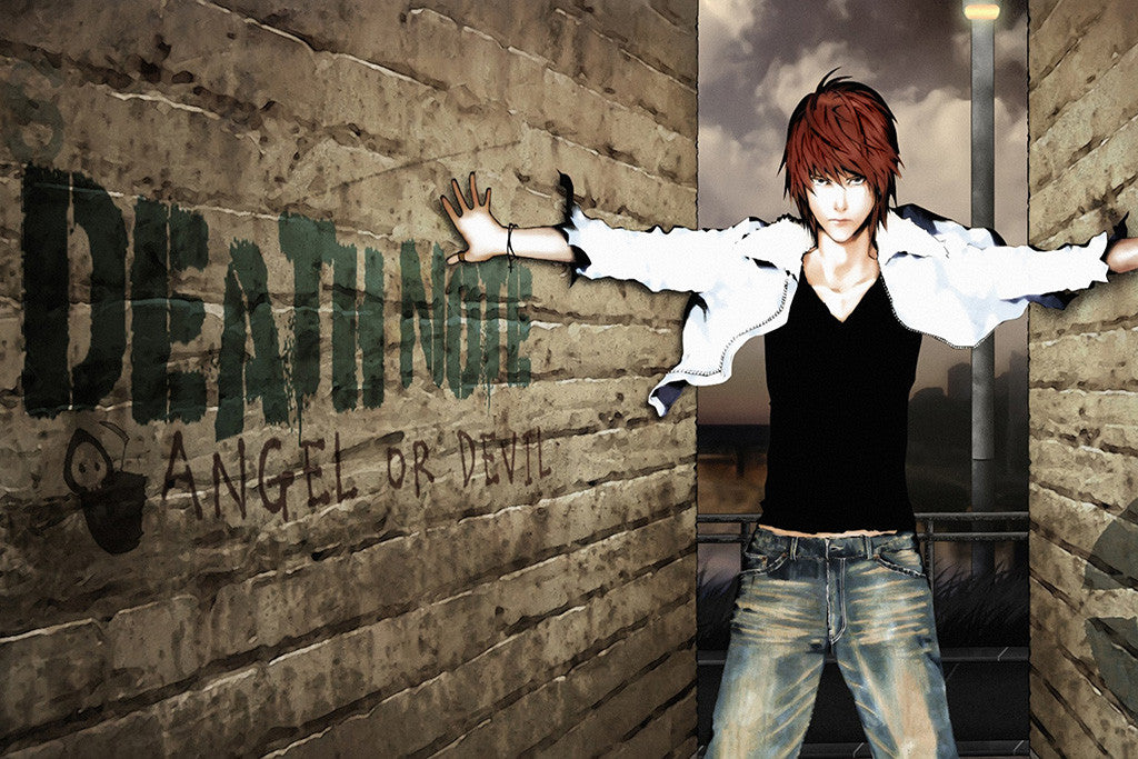 Death Note Angel Anime Poster