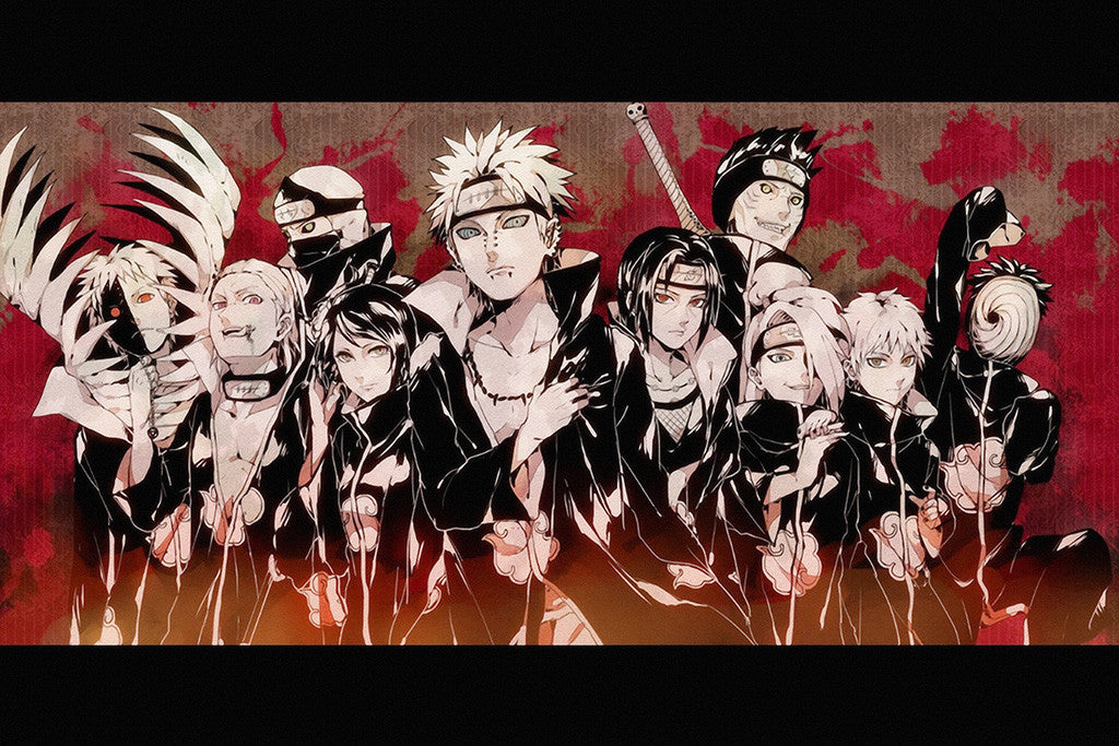 Naruto Team Anime Poster