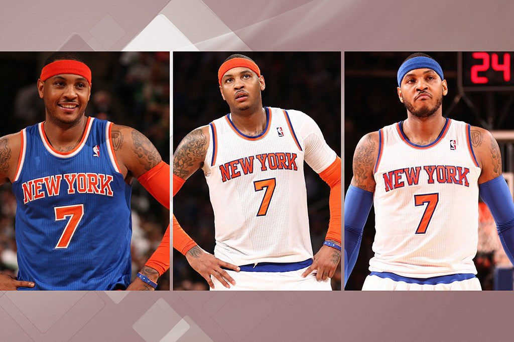Carmelo Anthony Set New York Knicks Basketball NBA Poster