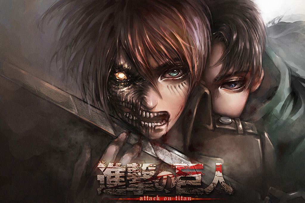 Shingeki No Kyojin Attack On Titan Anime Poster