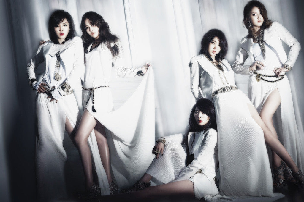 4minute Volume Up Poster