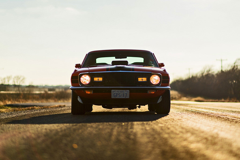 Ford Mustang Mach 1 Muscle Car Auto Poster