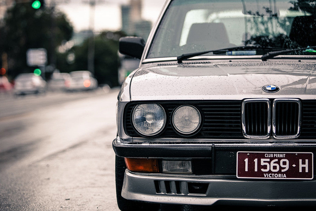 BMW E28 BMW 5-Series Car Auto Poster