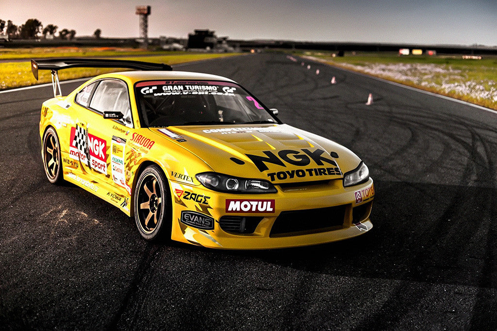 Nissan Silvia S15 Tuning Poster