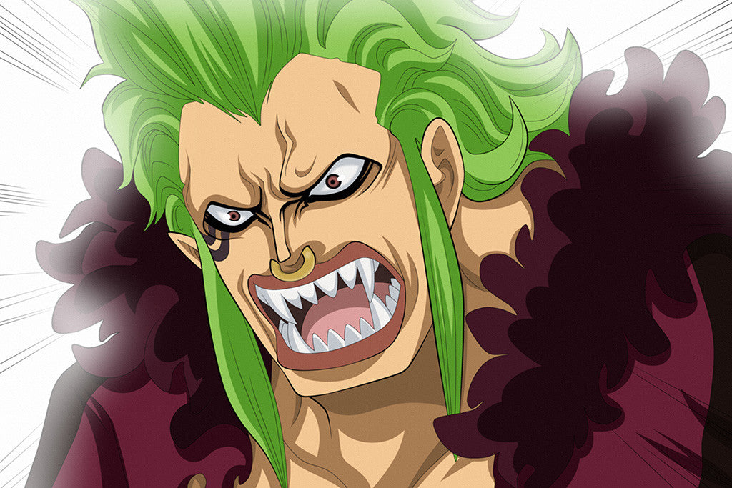 One Piece Bartolomeo Anime Poster