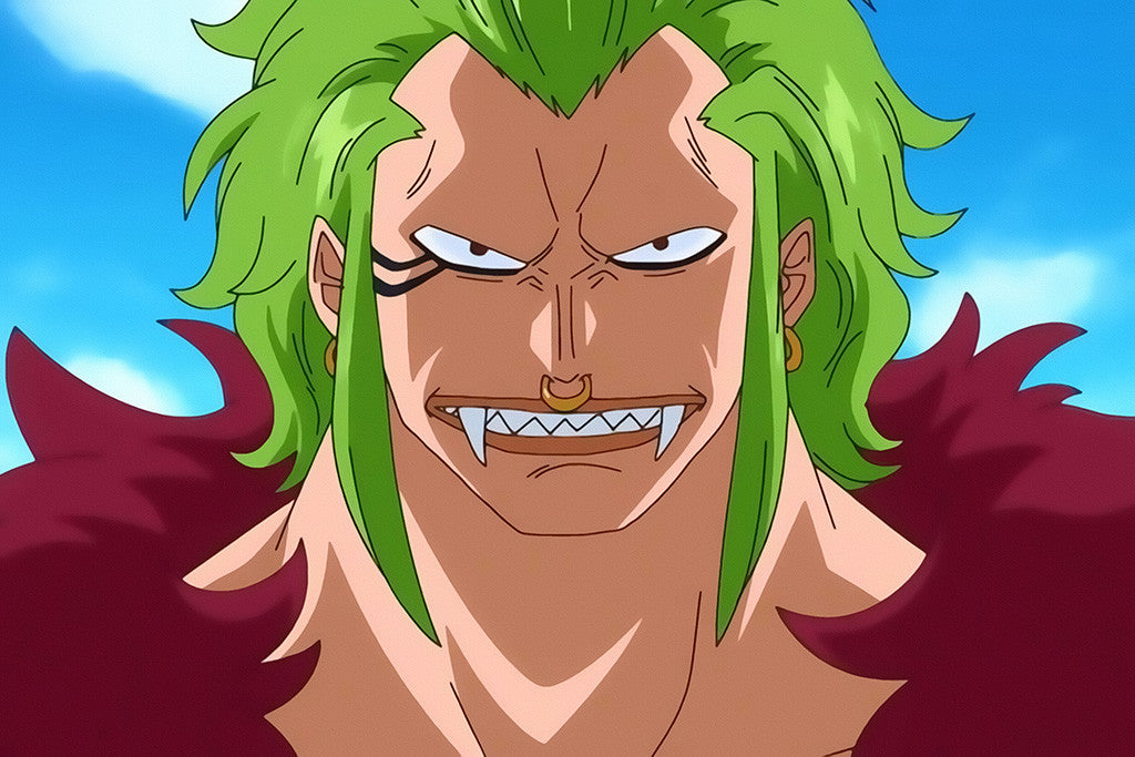 Bartolomeo One Piece Anime Poster