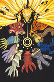 Naruto Shippuden Anime Animal Tails Poster