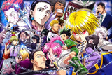 Hunter X Hunter Gon Killua Hisoka Chrollo Manga Poster