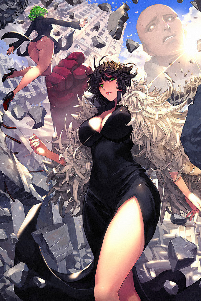 One Punch Man Anime Girl Poster My Hot Posters