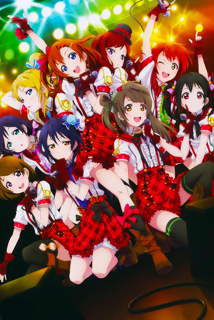 Jojo Movies >> Love Live School Idol Project Poster – My Hot Posters