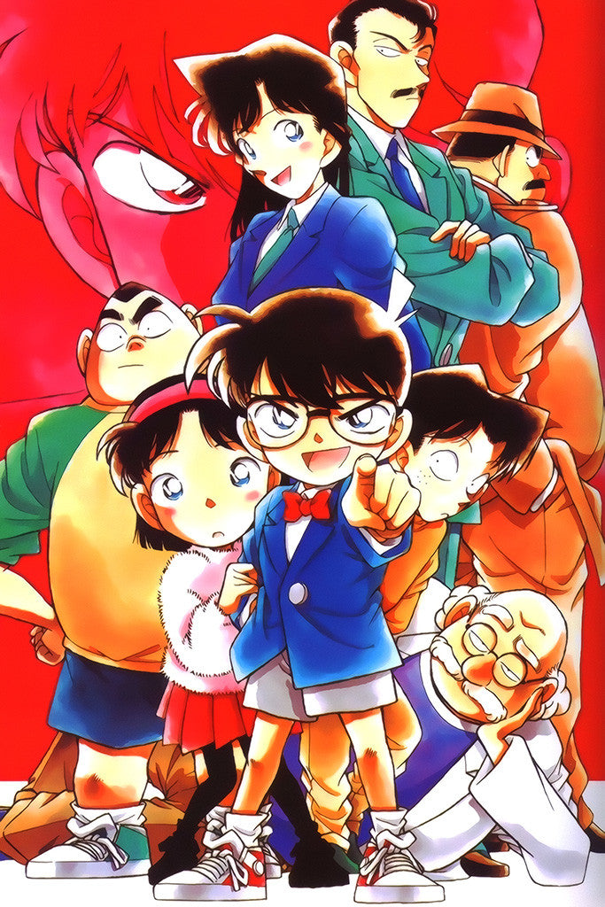 Detective Conan Anime Poster – My Hot Posters