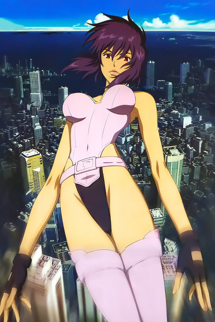 Ghost In The Shell Cute Anime Girl Poster
