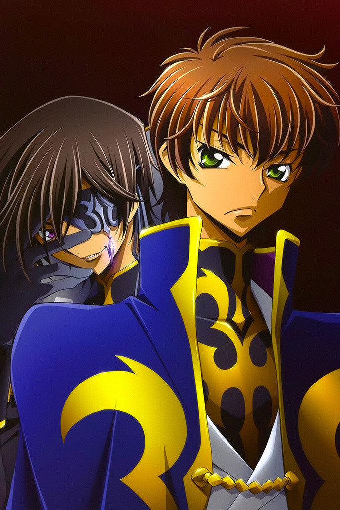 Code Geass Akito The Exiled Anime Poster
