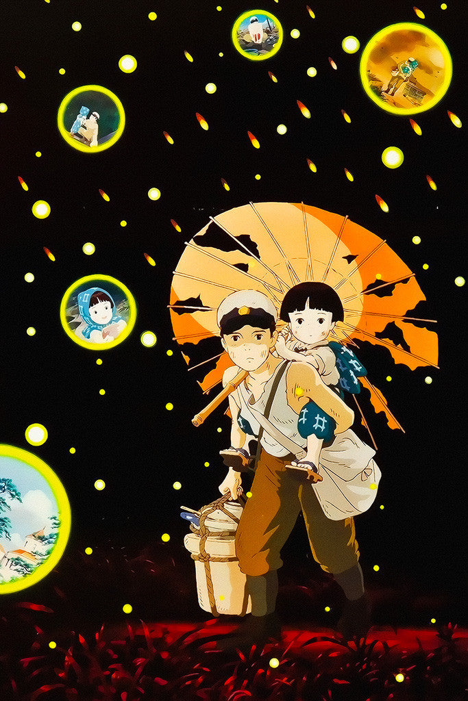 Grave Of The Fireflies Animation Poster