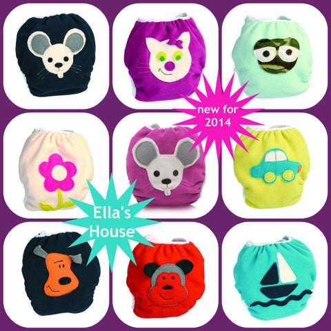 Ella's House applique wrap