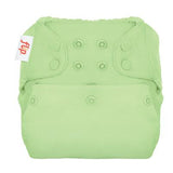 pale green nappy cover by Flip