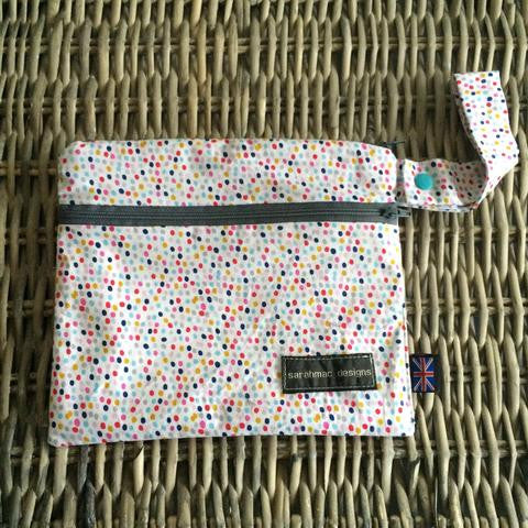 sarahmac designs - small double zip wetbag