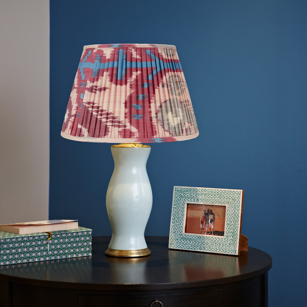 Pink and Fuschia Ikat Lampshade