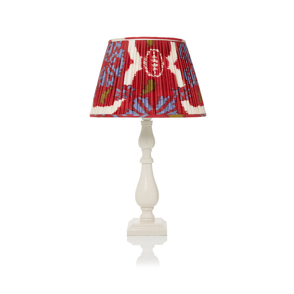 Medium Lacquered Lamps in Ivory - Only 5 left
