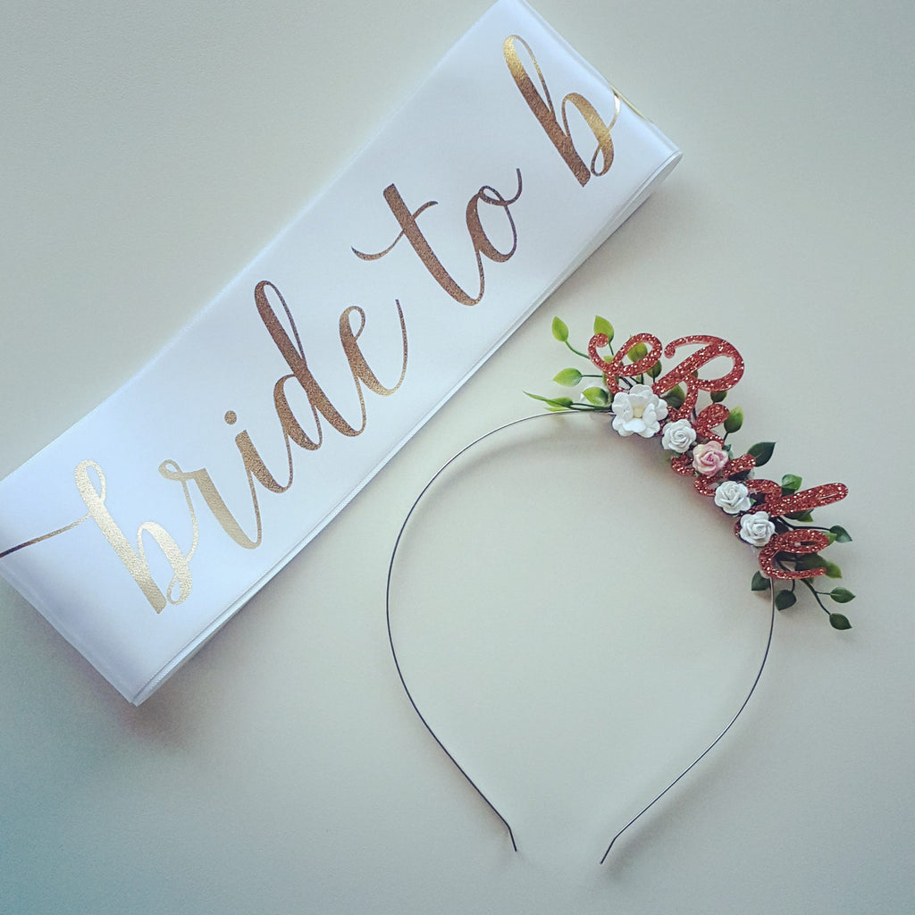 Sash - Custom Ribbon Colour & Wording