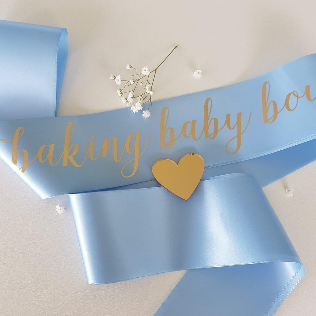 Sash - Baby Shower / It's a Boy Themed