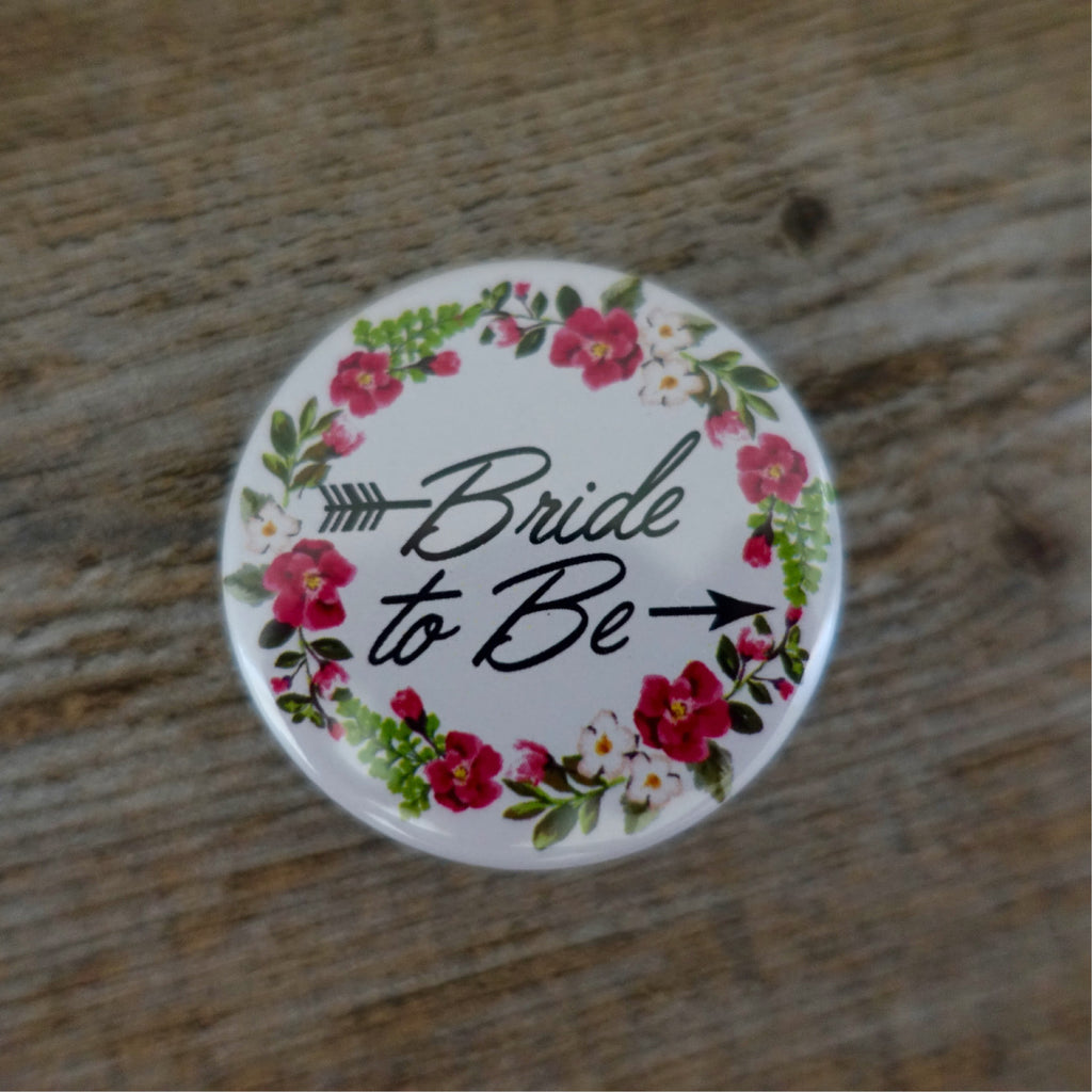 Hens Party Badges - Garden Classic