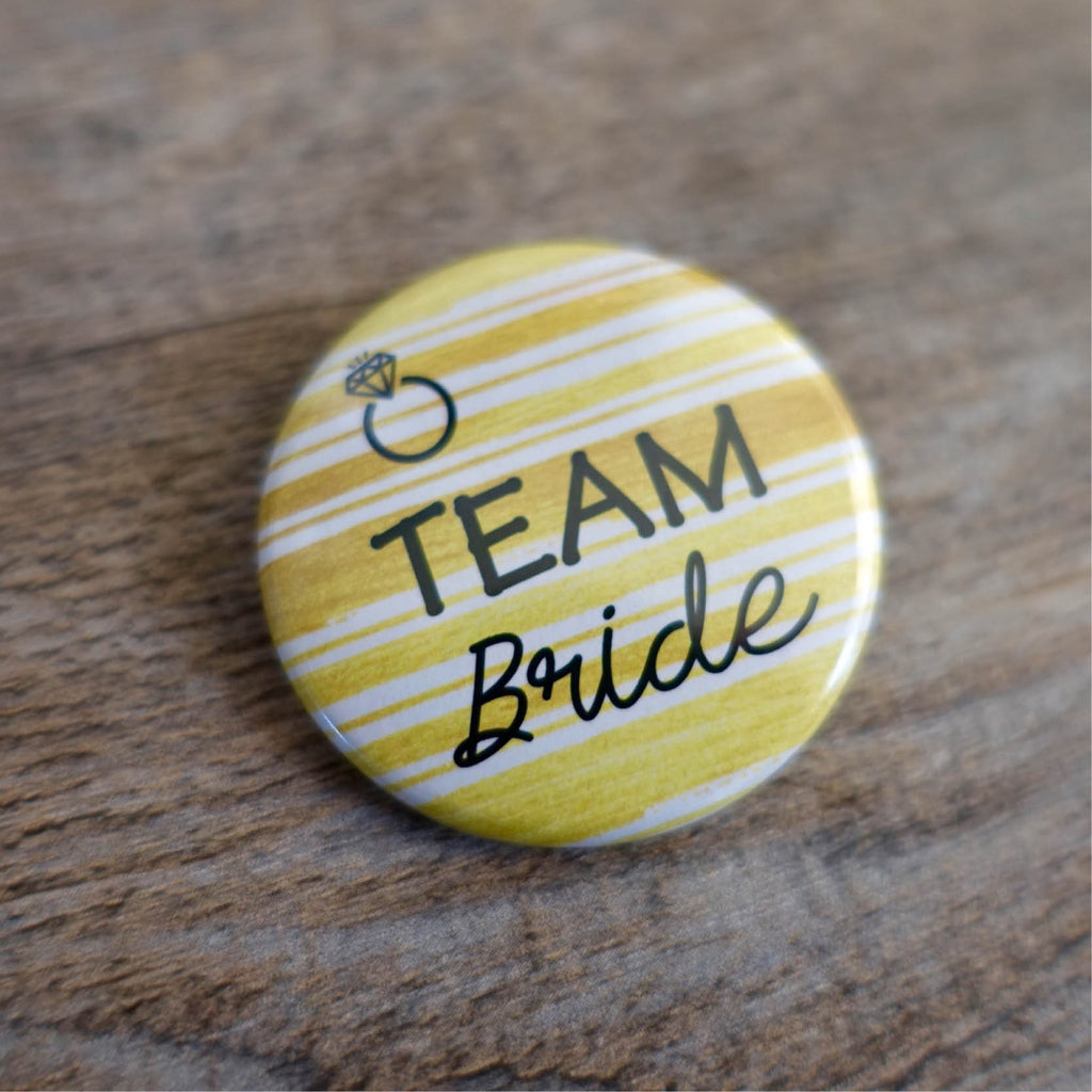 Hens Party Badges - Golden Ring