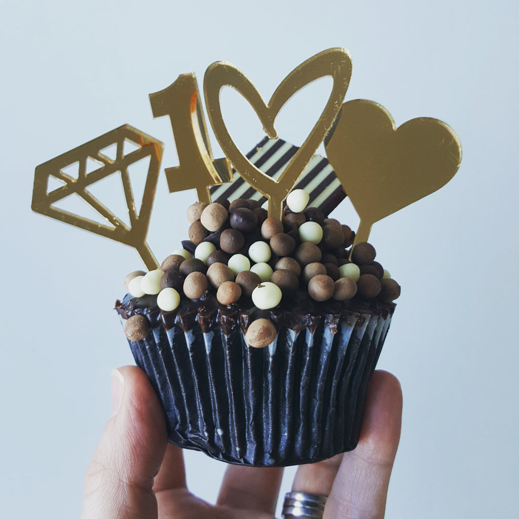 Cupcake Topper - One