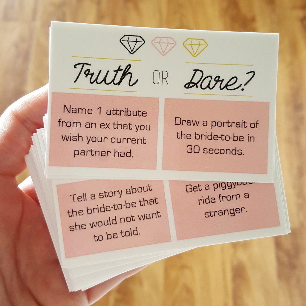 Truth or Dare Cards (x24)